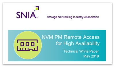 NVM PM Remote Access for High Availability