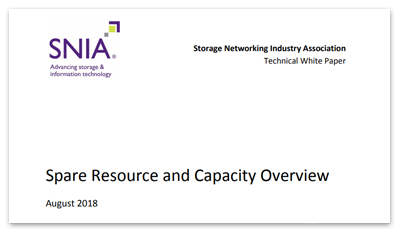 Spare Resource and Capacity Overview Technical White Paper